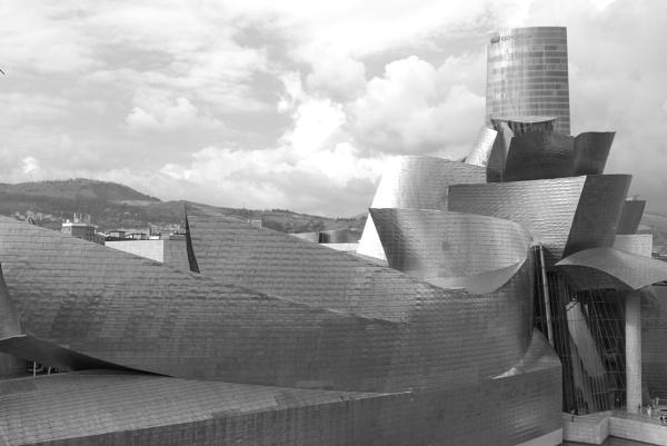 Guggenheim and Iberdrola Tower, Bilbao #2 by tonycullen