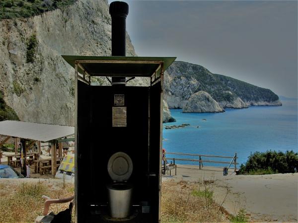 Toilette au paradis by PhotoHeritage