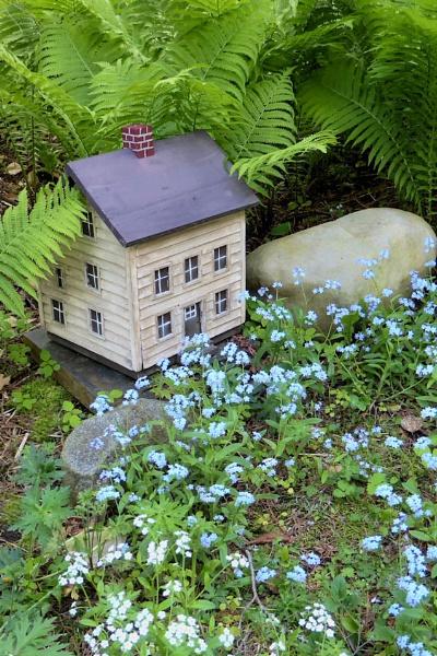 Little House in the Garden by Joline