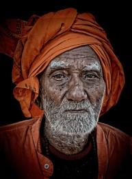 Hindu Pilgrim in Rishikesh