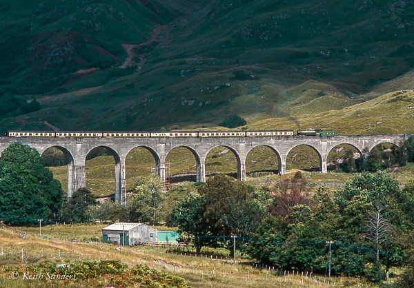 Glenfinnan Viaduct by Railcam