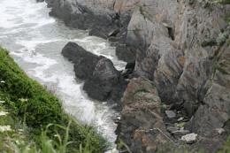 Devon coast line