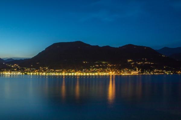Lake Garda by Evening. by WorldInFocus