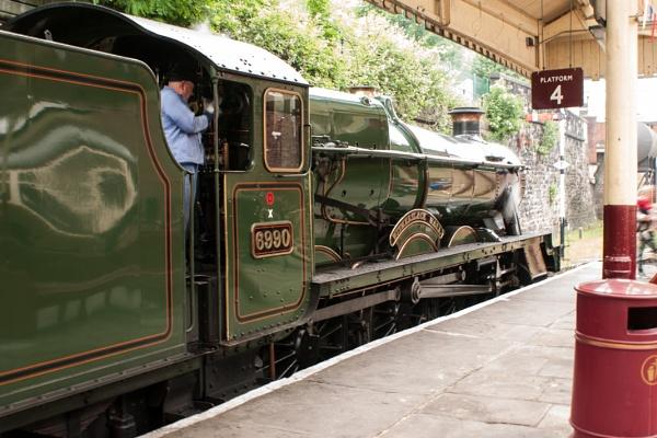 Witherslack hall Bury East Lancs Railway by chriswood
