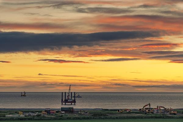 Industrial sunrise by Dallachy