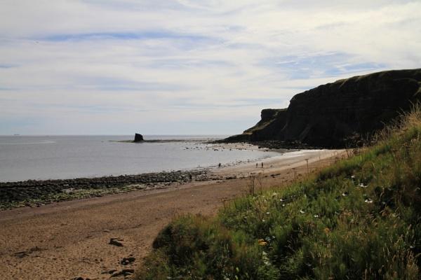 Saltwick Bay (original) by pat_hopkins