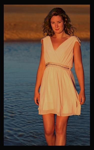 Sunset goddess by PCarman