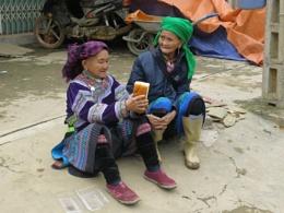 Local colour near Sapa in Vietnam