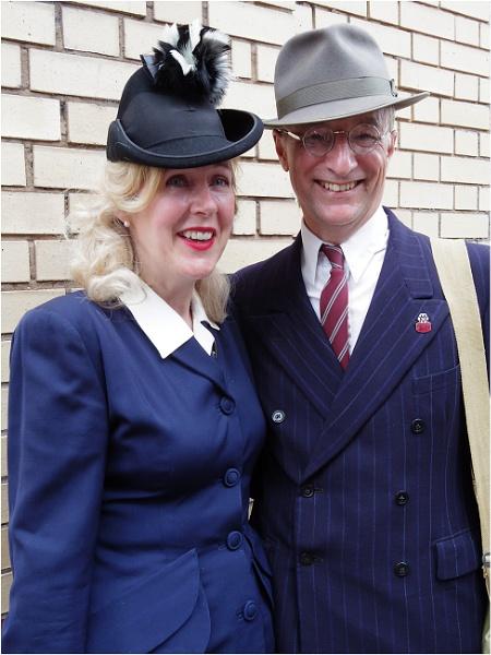 Couple circa 1940 by johnriley1uk