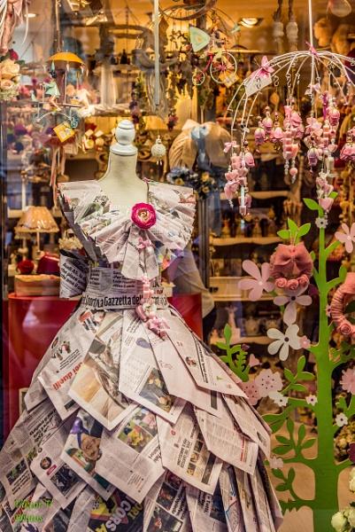 Newspaper Fashion by Sambomma