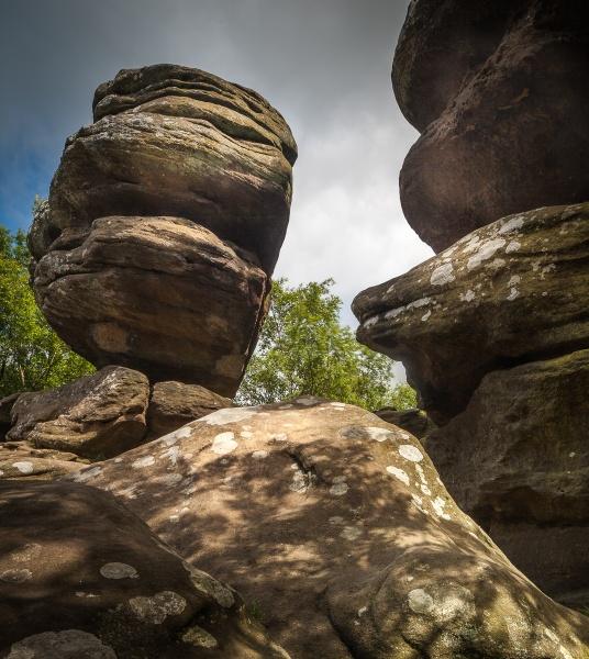 Brimham Rocks by Bigpoolman