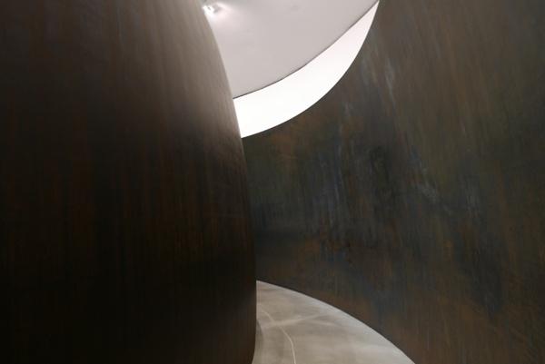 The Matter of Time Installation - Richard Serra - Guggenheim Museum, Bilbao #2 by tonycullen