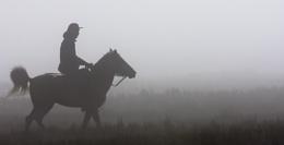 Photo : Riding Under The Fog
