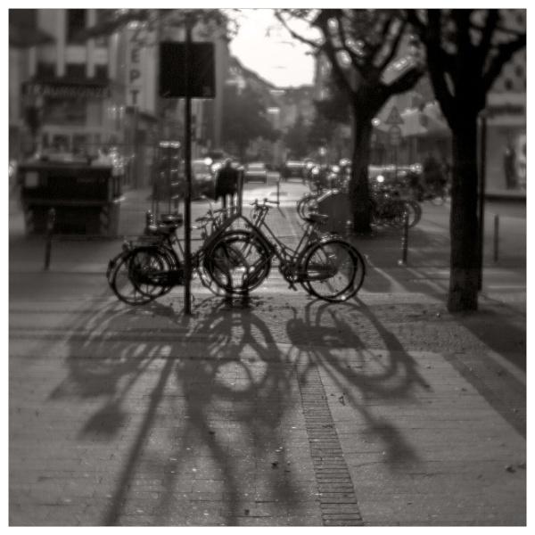 bikes & shadows by bliba