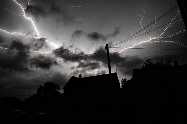 Stormy street by j1m1972