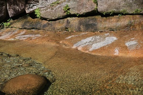 Rock Pool at Ladies Bath Falls, Mt Buffalo, Victoria, Australia by Elfix6