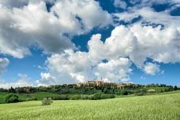 View of Pienza