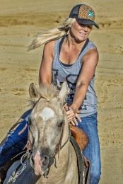 Blonde Barrel Racer