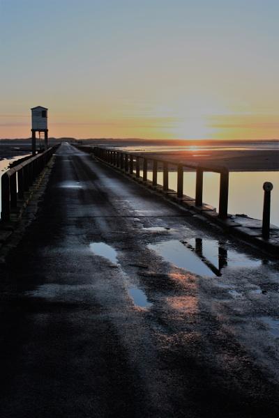 Holy Island Causeway by DanfromScotland