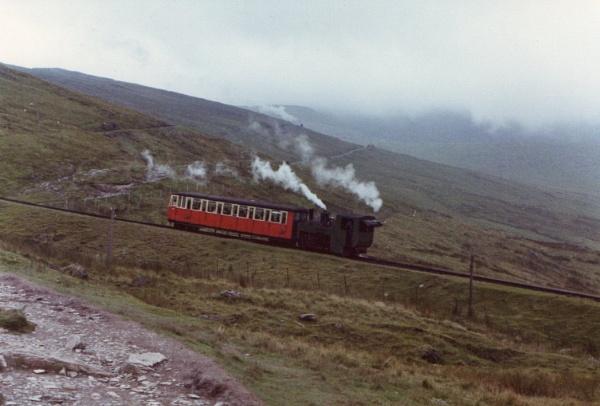 Snowdon Railway, 1977 by justwilliam