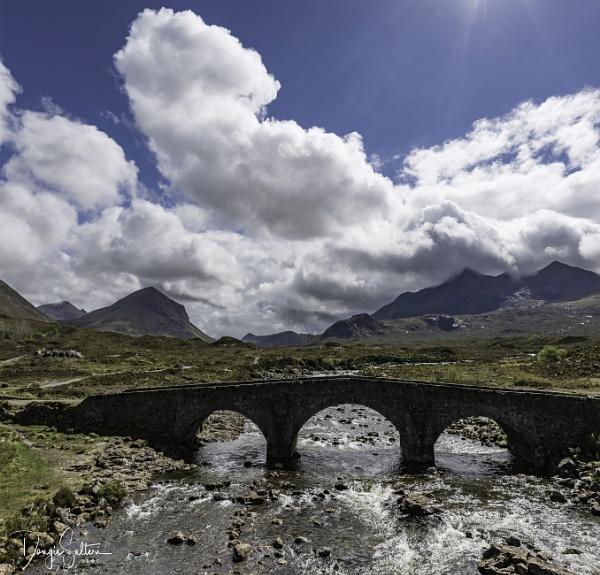 Sligachan Bridge... by Scottishlandscapes