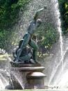 'Hercules fighting Achelous', Palm House Pond, Kew Gardens by prtd