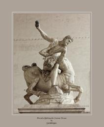 Statues in The Piazza Della Signoria, Florence, Italy