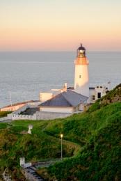 Sunset over Douglas Head Lighthouse