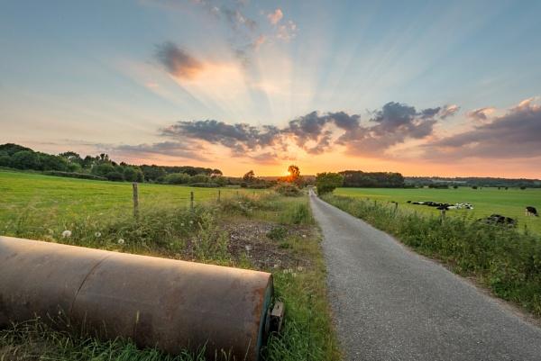 Sonning Sunset by falsecast