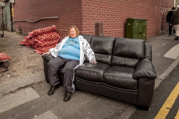 Sofa Woman by JohnnyBG