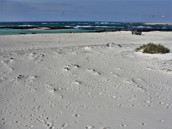 White Powdery Sands & Black Lava by PentaxBro