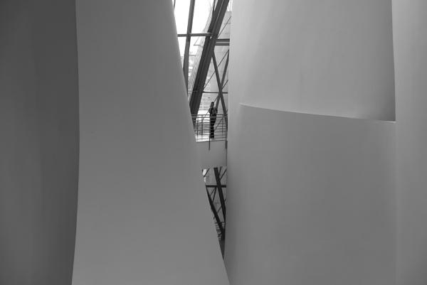 Guggenheim Museum Interior, Bilbao by tonycullen