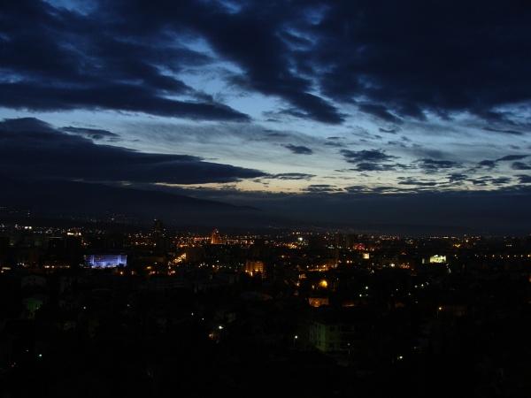 Skopje by Night by PhotoHeritage