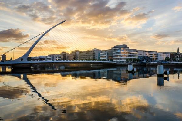 Dublin sunset by Magneto