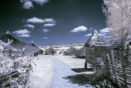 the ancient village.
