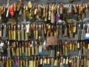 Bakewell love locks by oldgreyheron