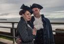 Goth Couple by stevenb
