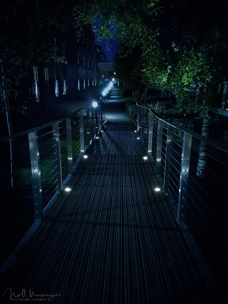 night walkway by jimmymack