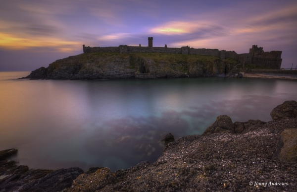 Peel Castle, Isle of Man by JonnyNI