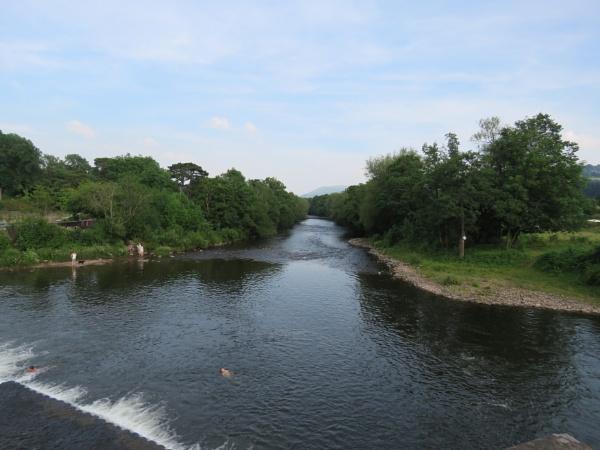 River Dip by voyger1010