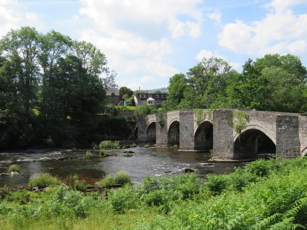 Llangynidr Bridge by voyger1010
