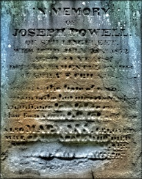 In Memory of Joseph Powell