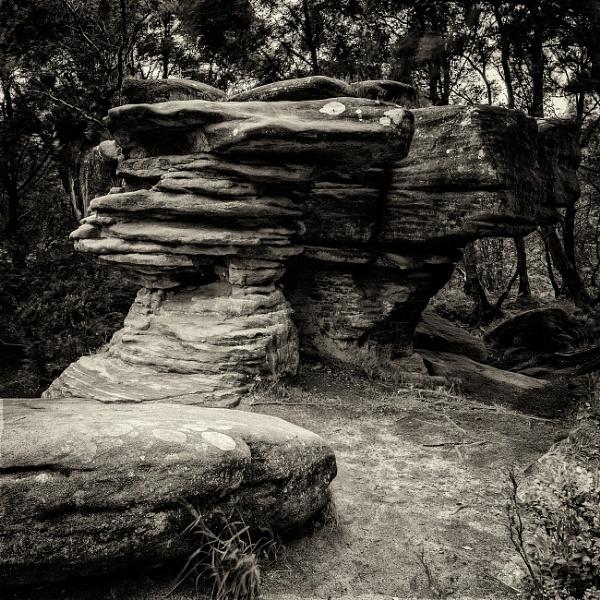 t Brimham Rocks, Niddersdale by RobertTurley