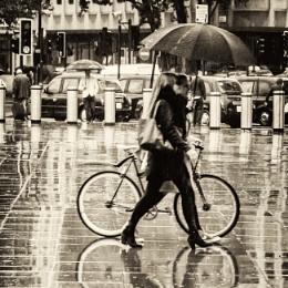 rain in town