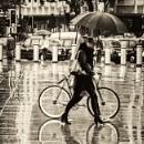 rain in town by mogobiker