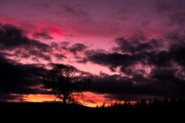 Sunset Colours in Springholm, Castle Douglas