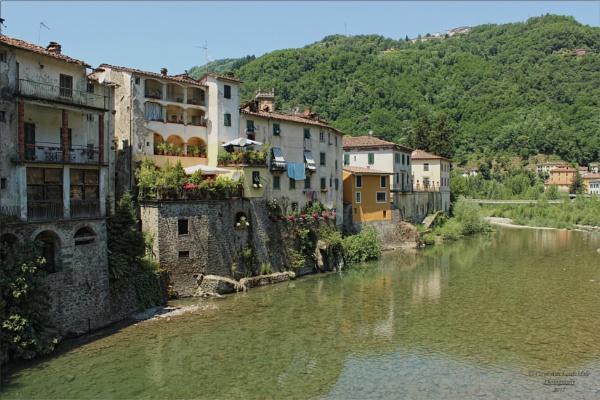 Ponte a Serriglio, Bagni di Lucca by canoncarol