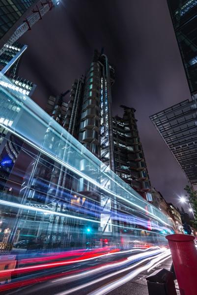 Lights across Lloyds by falsecast