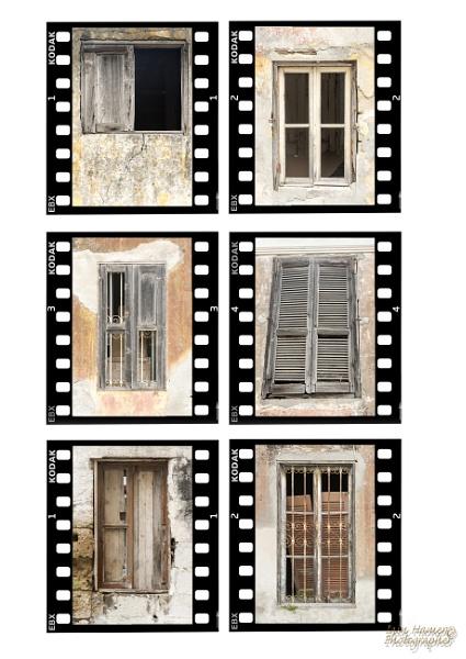 Windows of Ialyssos Rhodes by IainHamer