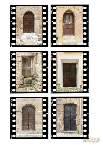 Rhodes town doors by IainHamer
